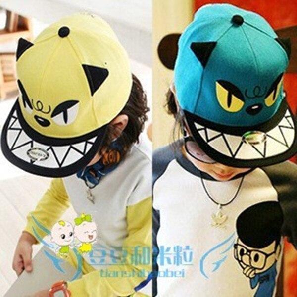 1242ce58d90 Fashion Novelty Boys Girl Children Snapback Caps Cartoon 3D Monster Baby  Kids Hip Hop Hat Baseball Cap Sun Visor Sunbonnet-in Hats   Caps from  Mother   Kids ...