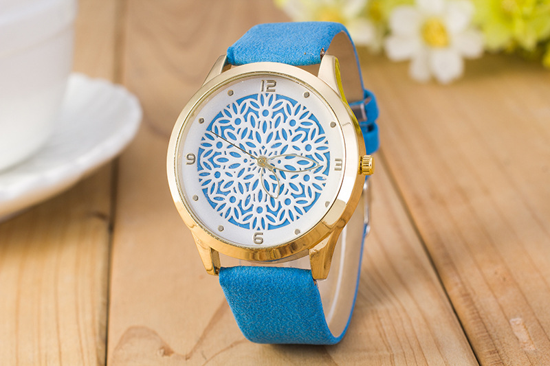 Retro Design Women Watch Relojes Mujer Lady Leather Strap Analog Quartz Wrist Watches