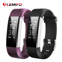 LEMFO ID115 HR Plus Smart Bracelet Fitness And Sleep Tracker Pedometer Heart Rate Monitor Smart Band