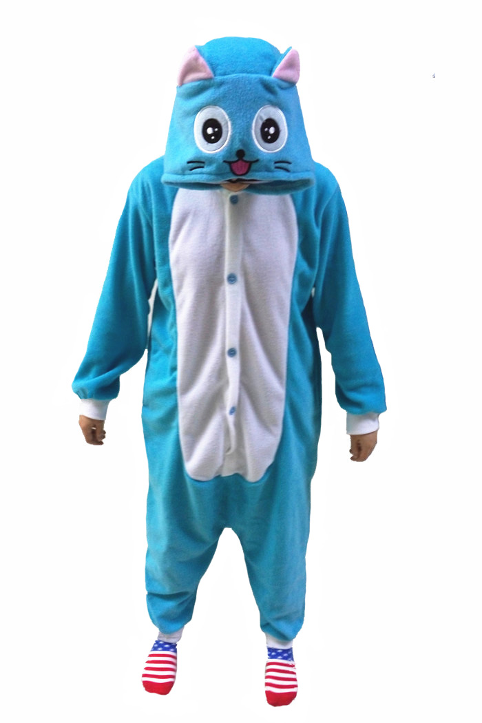 New Animal Pajamas Women Costumes Unicorn Dog Narwhal Owl Cat Bear Squirrel Whale Goat Design Mens Costume for Masquerade