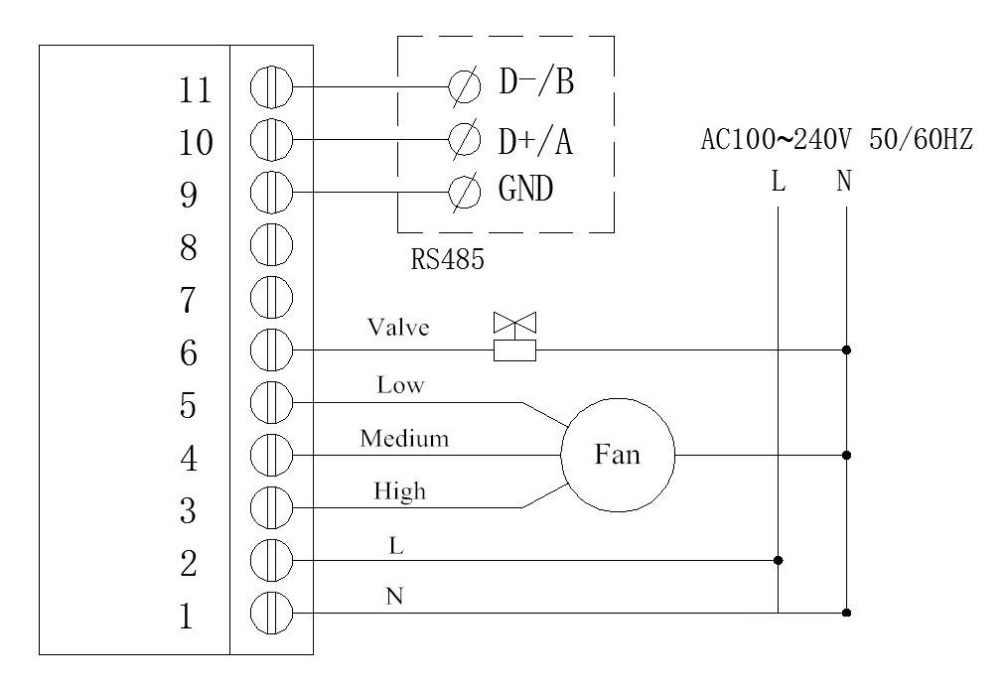 [DIAGRAM_1JK]  ZL HV60AR, Modubs FCU controller, RS485 Thermostat, Modbus Thermostat, Fan  Coil Unit controller, fcu thermostat rs485, Lilytech|temperature controller|fan  coil controllertemperature control controller - AliExpress | Fcu Control Wiring Diagram |  | www.aliexpress.com