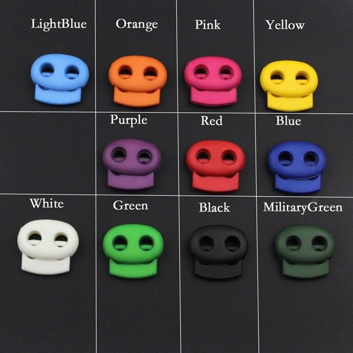 100pcs Pack Size:16mm*17mm*6mm Plastic Mixed Color Mini