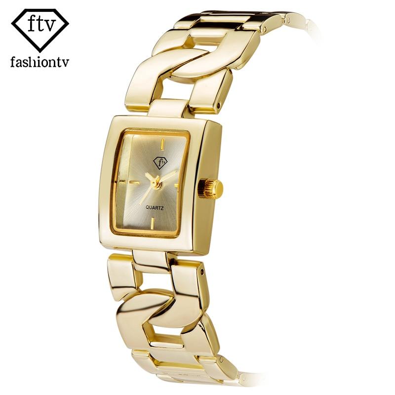 FTV Vogue Business Top Quality Quartz watch Woman Date Leisure Support Wholesale Lady Watches Study Original