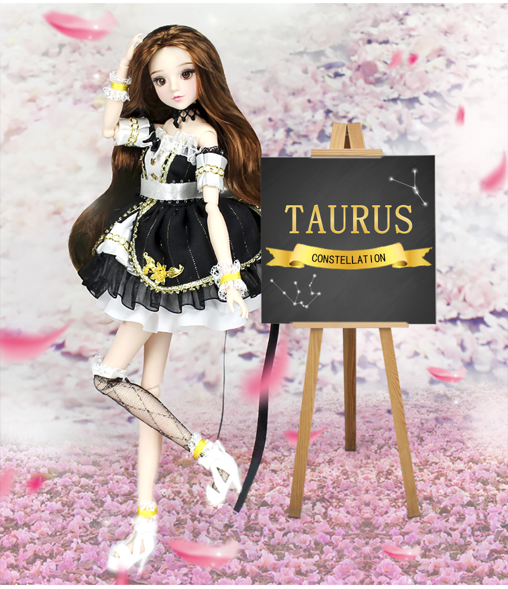 MMGirl 12 Constellation Taurus like BJD Doll 1 6 30cm high new set of toys gifts