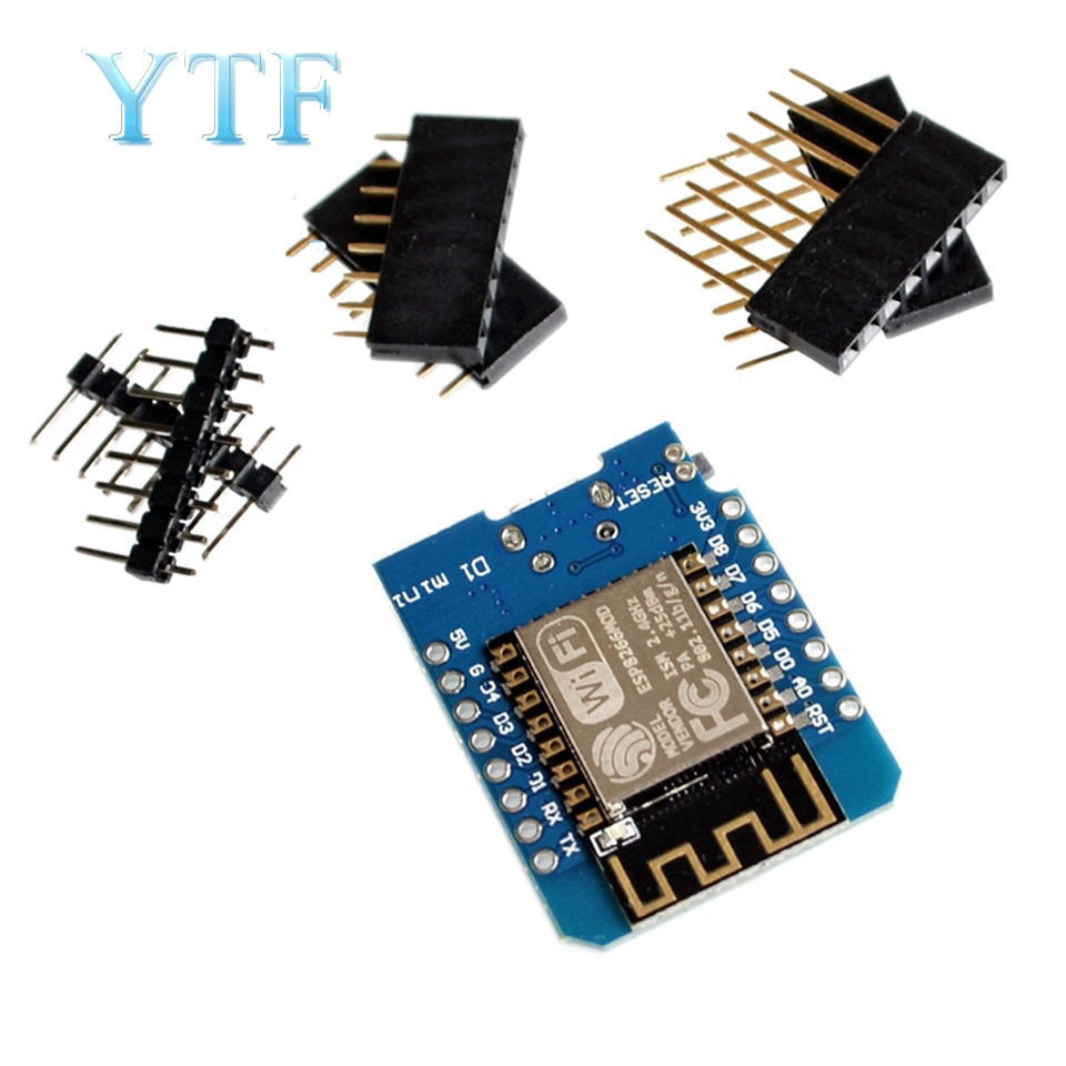 D1 Mini-Mini NodeMcu 4M Bytes Lua WIFI Internet Of Things Development Board Based ESP8266 WeMos