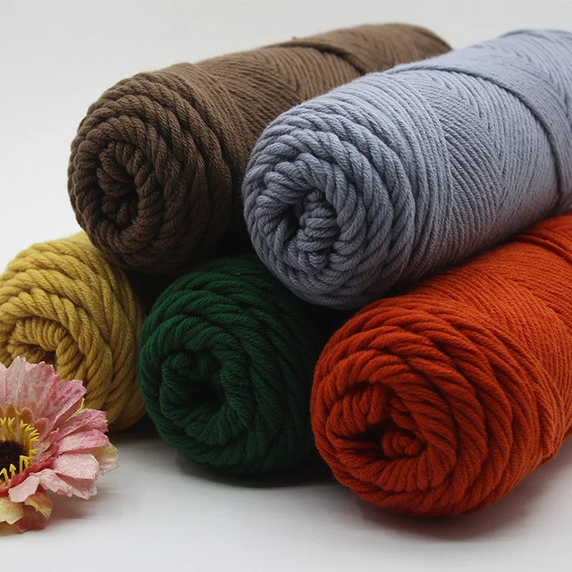 Online Shop Free Shipping Milk Cotton Yarn Thick Yarn For Hand