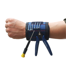 Magnetic Wristband Strong Magnets Holding Holder Screws Nails Drill Bits Tool Bag Tool Set Wrist Tool Kit For CCTV Installation