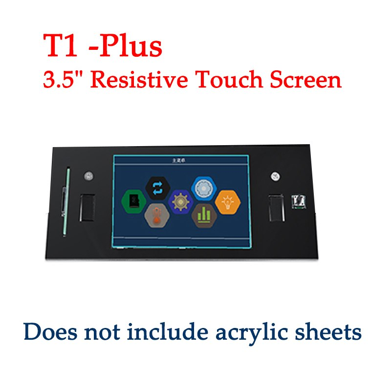 Prusa i3 3D Printer Spare Parts LCD Screen only for Sinis Z1 3d Printer / T1 / T1 PLUS 3D Printer