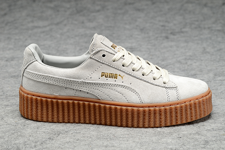 2019 New arrive Puma by Rihanna Suede Creepers women and men shoes