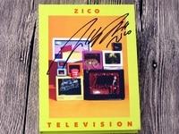 BLOCK B ZICO Autographed Mini 2nd TELEVISION Album New Korean 072017