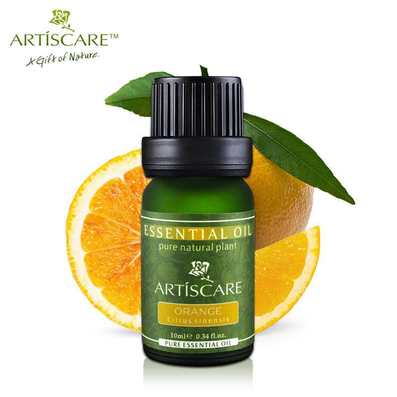 цена на ARTISCARE 100% Pure Sweet Orange Essential Oil 10ml for Brightening and Moisturizing Skin Help Gastrointestinal Aromatherapy