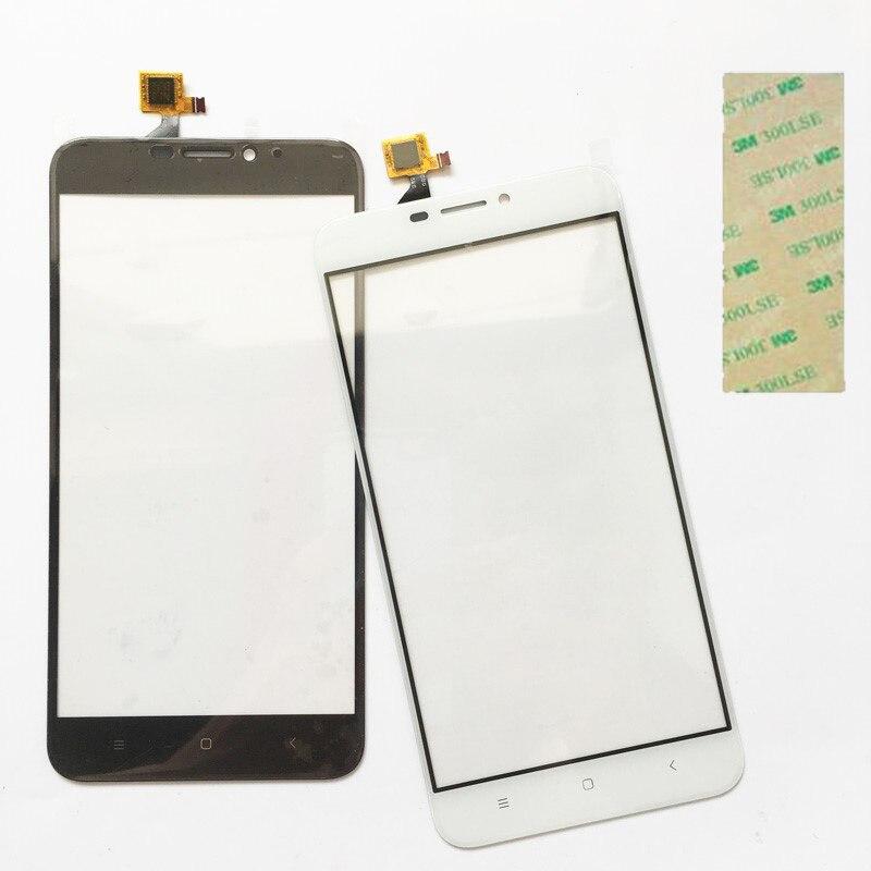 Mobile téléphone Pour Oukitel U20 Plus Écran Tactile Panneau TP Pour Oukitel U20 Plus Avant Tactile Panneau de Remplacement + 3 M Bande