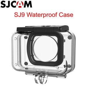 Image 1 - SJCAM SJ9 boîtier étanche sous marin 30M boîtier de plongée pour SJCAM SJ9 série SJ9 caméra daction de grève