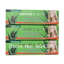 FEIQUE Golden Aloe whitening anti scar freckle day cream+night creram+Pearl cream for face nourishing
