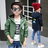2018 New Children S Clothing Boy S Coat Spring And Autumn Letters S Children S Fashion
