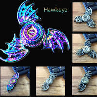 New Fidget Spinner Dragon Wing Bat Dragon Fingertips Gyro Triangular Dazzling Magic Eye Gyro Colorful Eagle