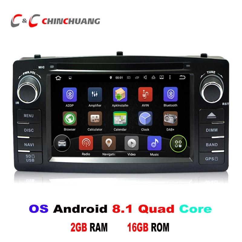 Përditësuar Android 8.1 Quad Core për BYD F3 Toyota Corolla E120 - Elektronikë e makinave