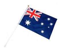 Australia hand flag Vietnam flag flaying 20X30cm 10piece 10piece 100