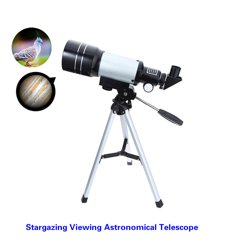 CSO Viewing Stargazing Monoculo Space Astronomic Telescope with Tripod Monocular Binoculars Barlow Lens F30070M Field Glasses free delivery children with monocular space telescope 600 50mm