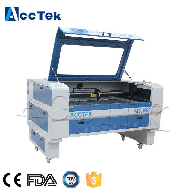 2018 offre spéciale CNC graveur machine bois laser gravure machine 1290 laser 80 w fabriqué en chine