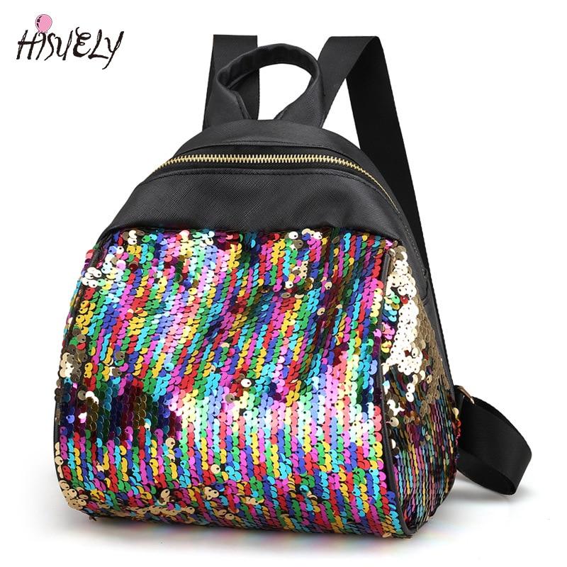 Жіночі палички рюкзак BlingBling охайний шик для дівчаток шкільні сумки для дівчаток-підлітків міні рюкзак для жінок