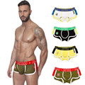 New Fashion Underpants Sexy Men's Boxer Shorts Underwear Pant Jockstrap Gay Pouch Panties #OR