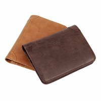 PONGWEE Successful People Genuine Leather Card Holder Coin Pocket Case Bank Credit Card ID Card Money