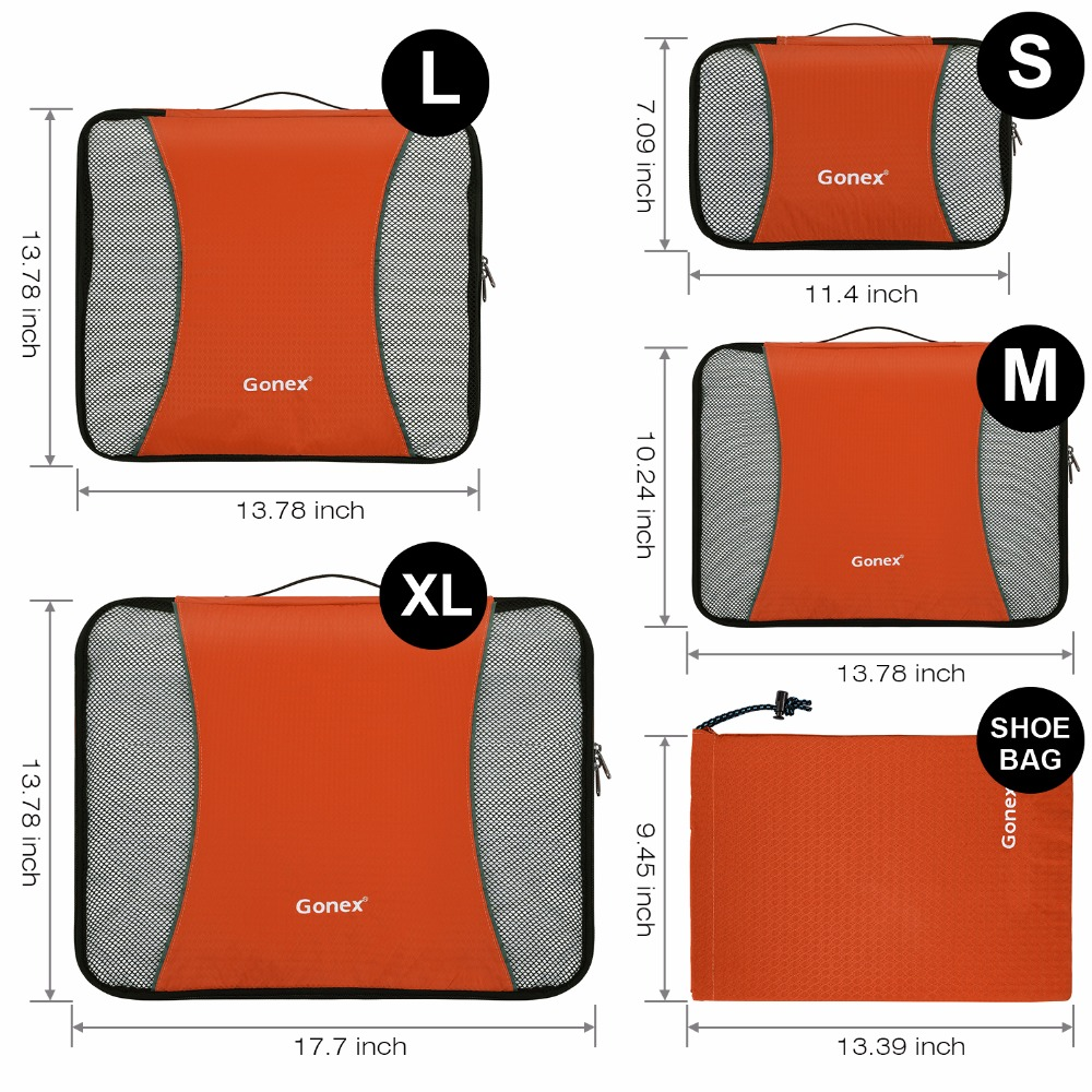 HTB1b5.mKNnaK1RjSZFBq6AW7VXaa Travel Packing Cubes set (Gonex)