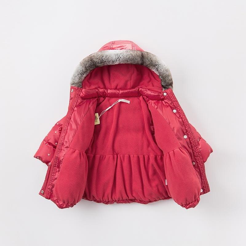 3665247225ec DBZ6505 dave bella winter infant baby girls down jacket children ...