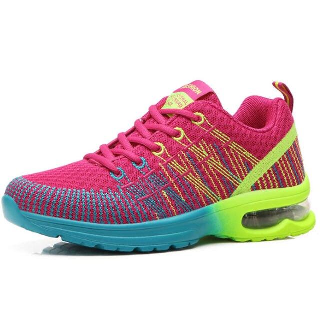 01738de81b5f7 2018 zapatillas mujer zapatos Deportivos mujer zapatos corrientes del  verano para las mujeres malla luz suave