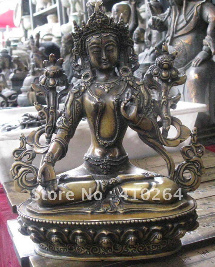 beautiful Buddha good luck Everlasting bronze statue