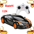 Hotsale 1/24 Bugatti Veyron RC Rey De Carretera Modelo de Coche de Carreras Voiture de velocidad Auto Vehículo con Caja de color Mejor Regalo de Juguetes