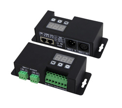 BC-854; 4CH DMX-PWM dekoder; DC12-24V wejście; 4A * 3CH wyjście