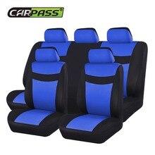 Car-pass полный набор автомобильной сиденье автомобиля включает Защитная крышка автомобиль универсальный полиэстер аксессуары для интерьера автомобиль-Стайлинг