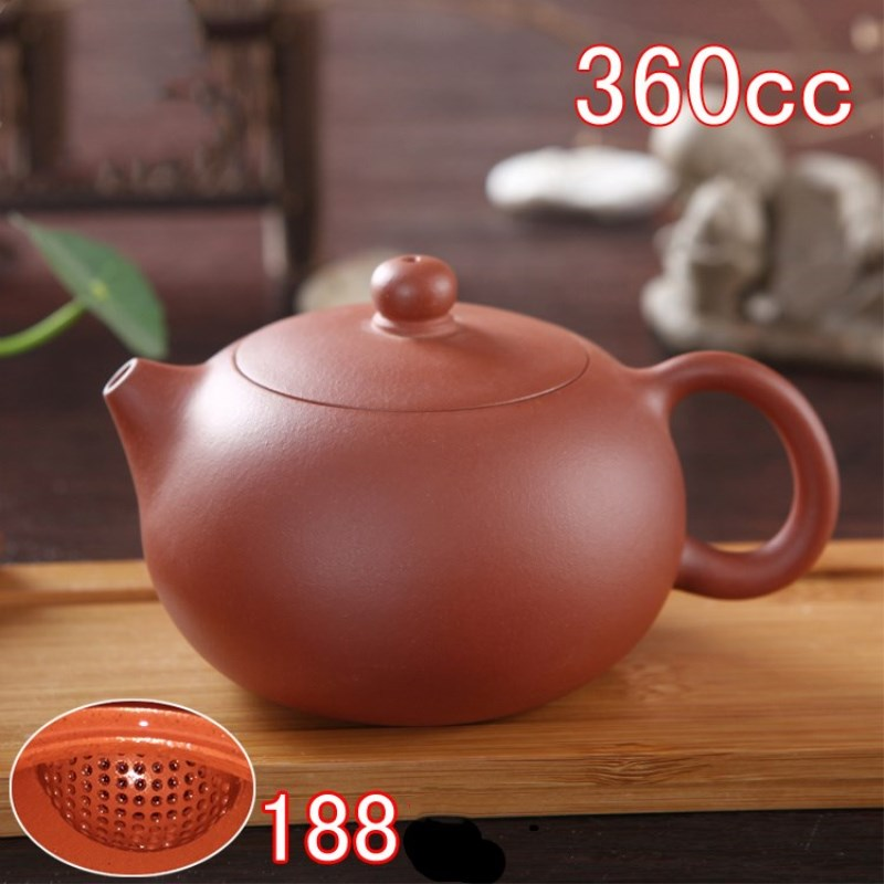 New 1pcs 360ml Authentic Yixing Teapot Master Handmade Chinese Purple Clay KungFu TeaSet Xi Shi Pot Multi-style Selection