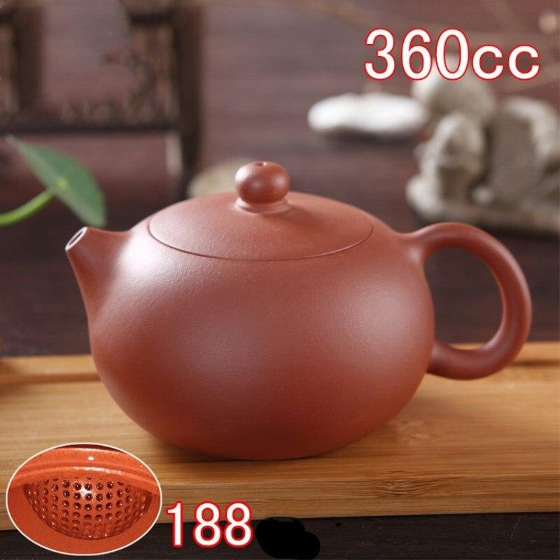 New 1pcs 360ml Authentic Yixing Teapot Master Handmade Chinese Purple Clay KungFu TeaSet Xi Shi Pot Multi style Selection