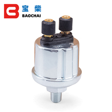 Uniwersalny czujnik ciśnienia oleju VDO 0 do 10 barów 1/8NPT generator na olej napędowy część 10mm czujnik ciśnienia alarmu ze stali nierdzewnej