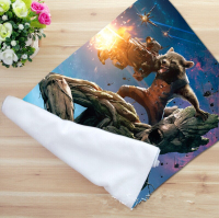 Free Ship Custom Guardians Of The Galaxy Microfiber Towels Movie Facecloth Bath Towel Bamboo Fiber Washcloth