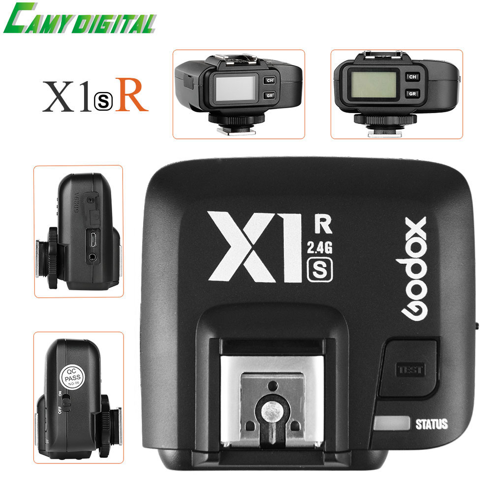 Pre-sale Godox X1R-S TTL HSS 1/8000s 2.4G Wireless X System Power Control Flash Trigger with screen Only the Receiver For Sony the grand scribe s records v 1 – the basic annals of pre–han china