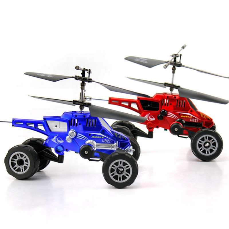 UDIRC U821 Remote Control Aircraft Electric Fall Resistant Land and Sea Helicopter Model Toys for Children Gift