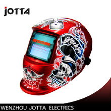 RED Li Battery+Solar Auto darkening welding helmet/face mask/Electric welder mask/cap for the machine