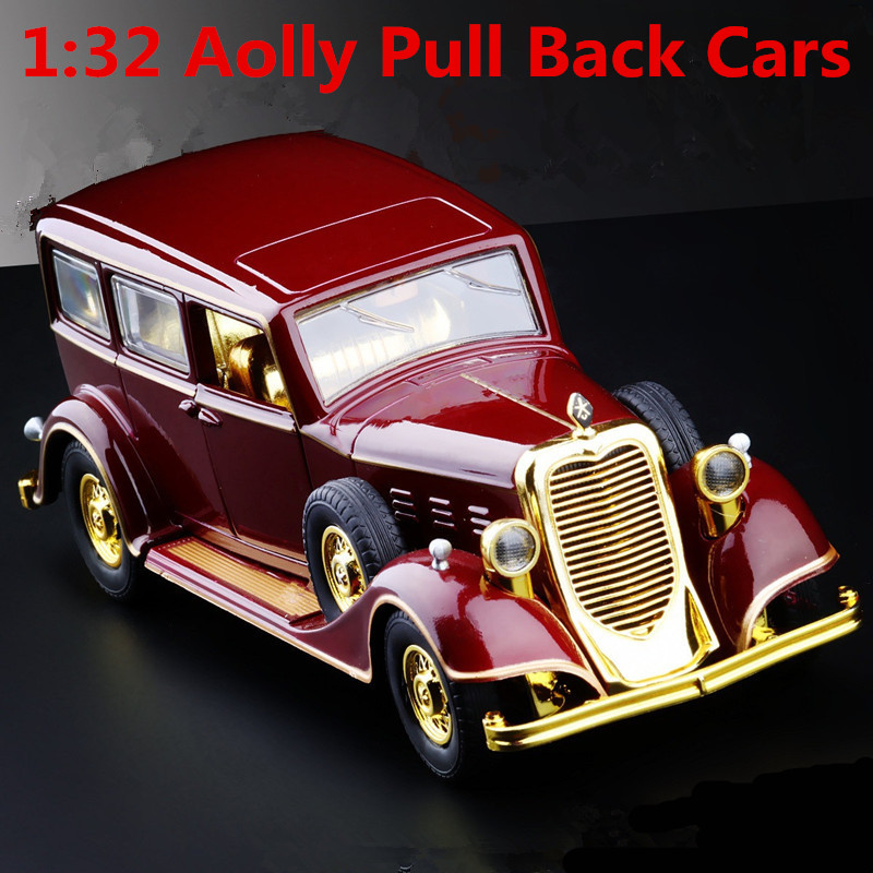 1:32 Alloy Car Models,high Simulation Model Classic Cars,metal Diecasts,toy Vehicles,pull Back&flashing& Musical,free Shipping
