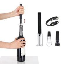 Новый 4 шт./компл. открывалка для красного вина пневматический насос Бутылка открывалка, штопоры с вакуумная пробка & Wine Pourer бар Кухня гаджеты