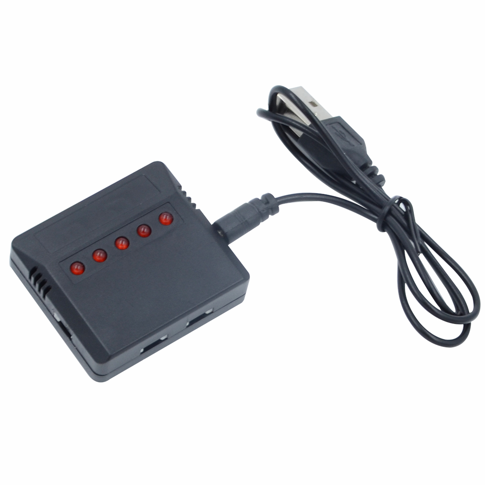 5 in 1 Lipo Battery USB charger adapter for SYMA X5C-1//X5C drone UFO quadcopter