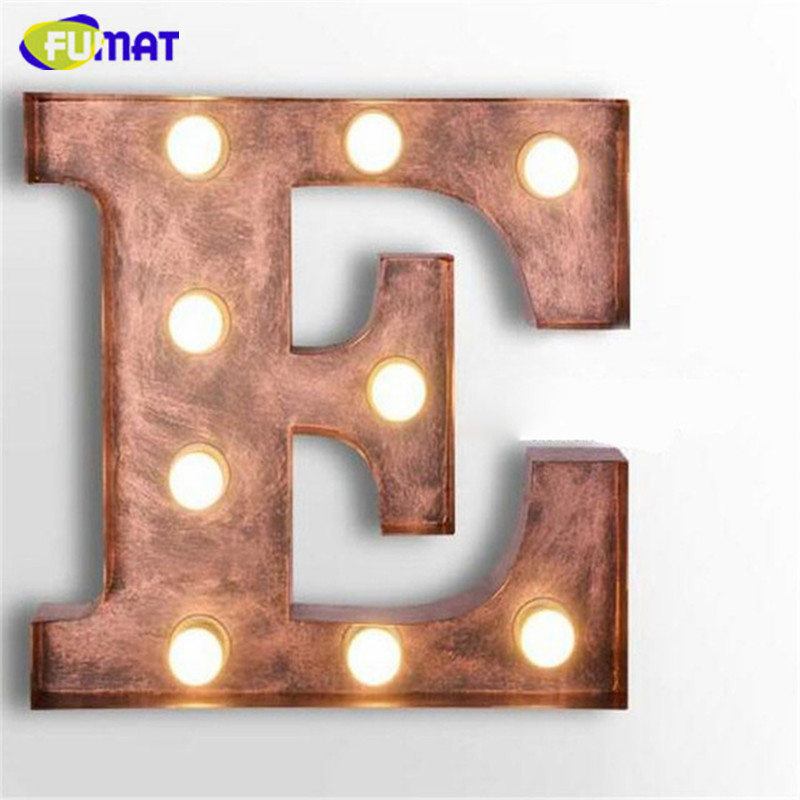 Metal Letters For Wall popular metal letter lights-buy cheap metal letter lights lots