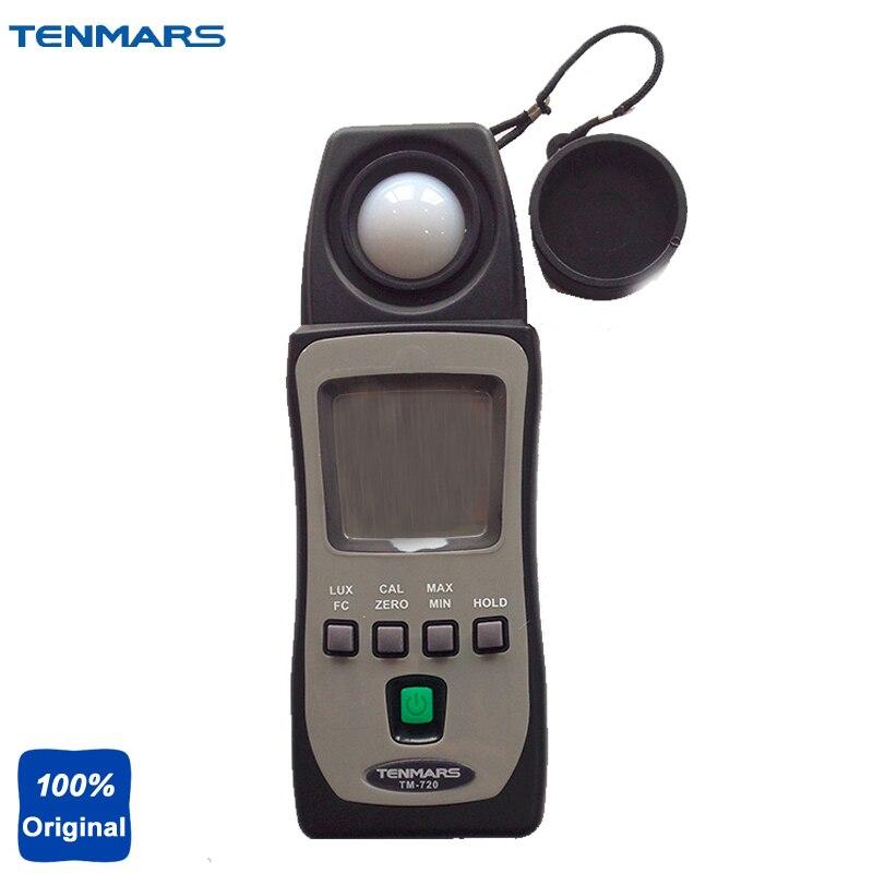 LUX/FC Lux Meter Light Meter Tester Illuminometer TM-720 mini digital lux meter light meter lux fc measure tester