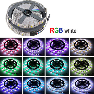 Image 5 - 5050 RGBW/WW LED Strip Licht WIFI Controller Neon Lamp 20 M Strepen Decor Flexibele Tape tira fita Diode lint DC 12 V Adapter Set
