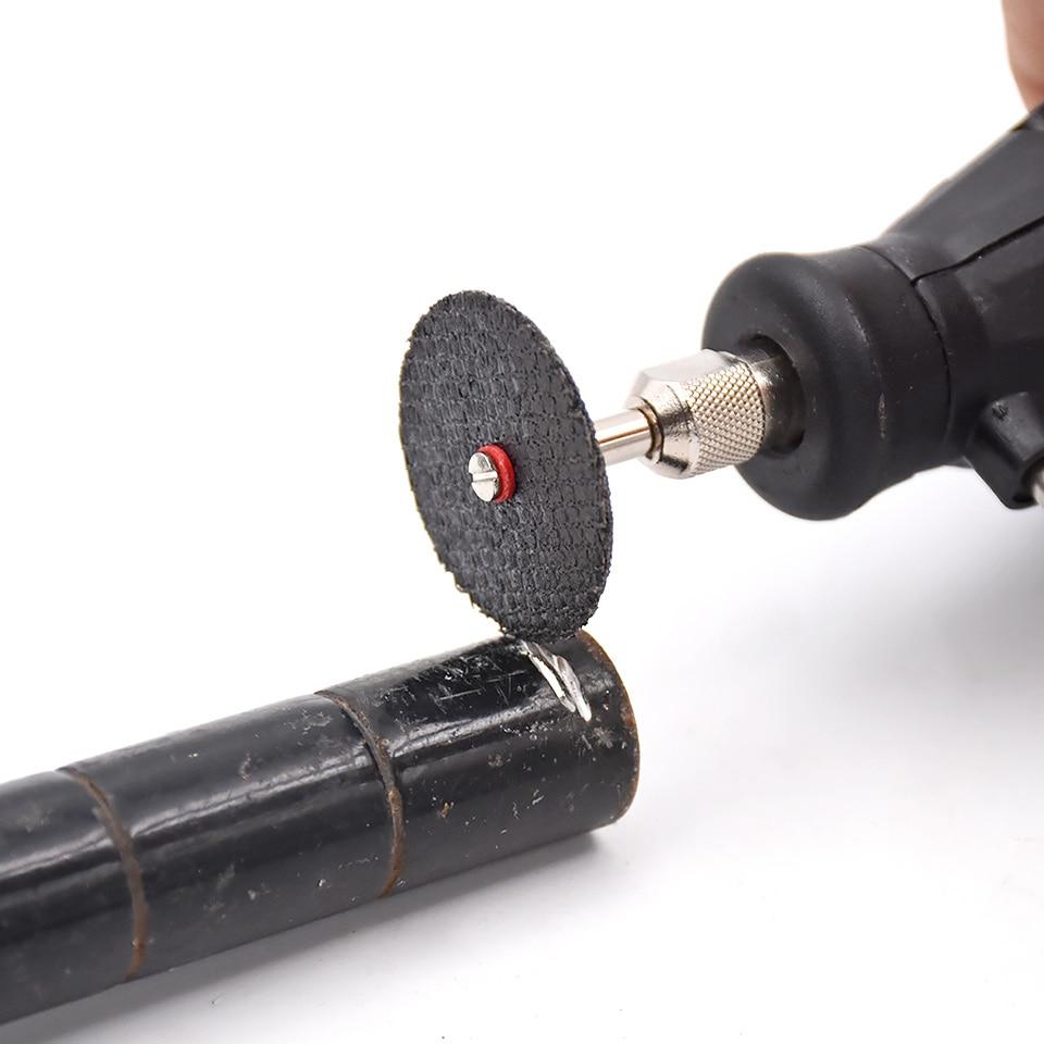 10pcs la ruota in fibra di resina ha visto il disco da taglio della - Lama per sega - Fotografia 5