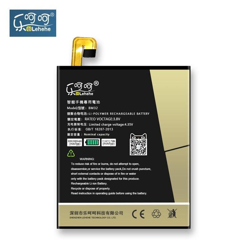 D'origine LEHEHE Batterie Pour Xiaomi 4 Mi4 BM32 Au Lithium Polymère Batterie 3080 mAh Remplacement Bateria Livraison Outils Cadeaux