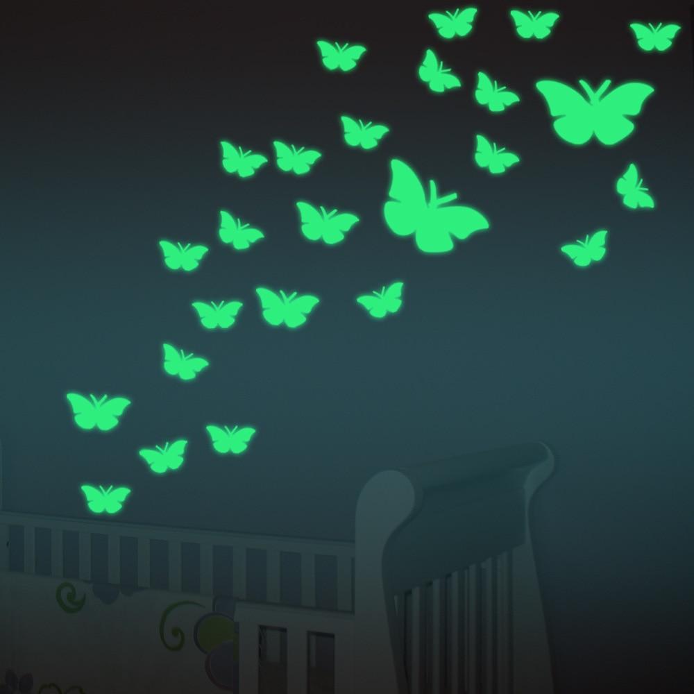 Popular Butterfly Bedroom Decor-Buy Cheap Butterfly Bedroom Decor ...